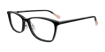 Black Lucky Brand D216 Eyeglasses.