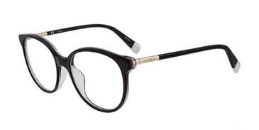 Black Furla VFU249 Eyeglasses.