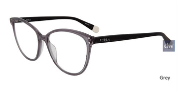 Grey Furla VFU199 Eyeglasses.
