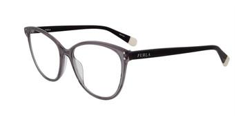 Grey Furla VFU199 Eyeglasses.