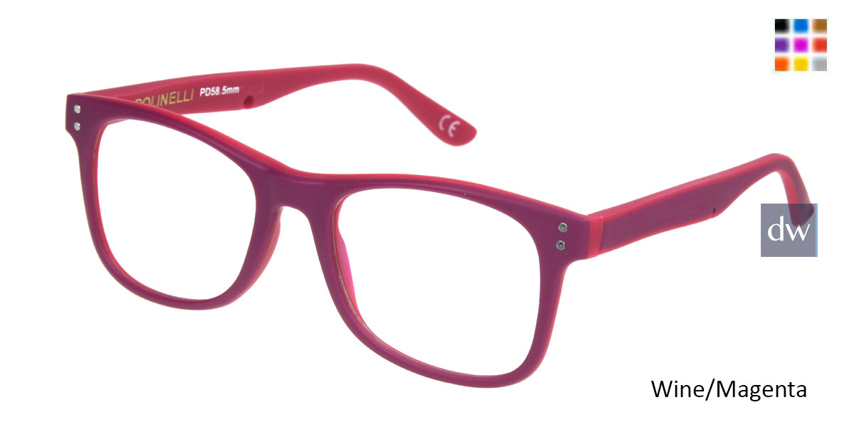 d06b1750ce Polinelli P303 Women Prescription Eyeglasses