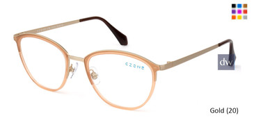 Gold (20) C-Zone U1198 Eyeglasses