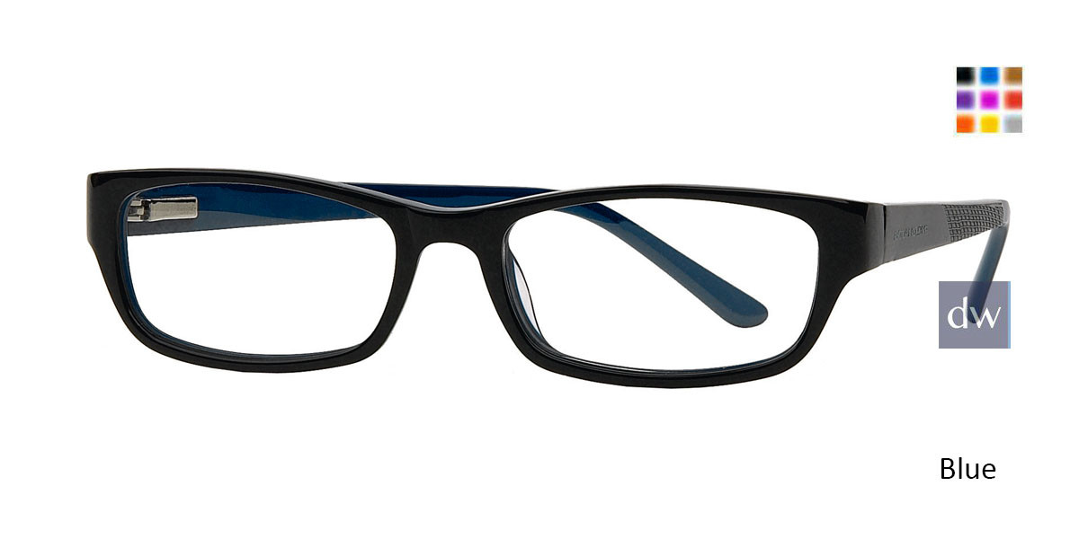 Black Blue Body Glove BB126 Eyeglasses - Teenager.