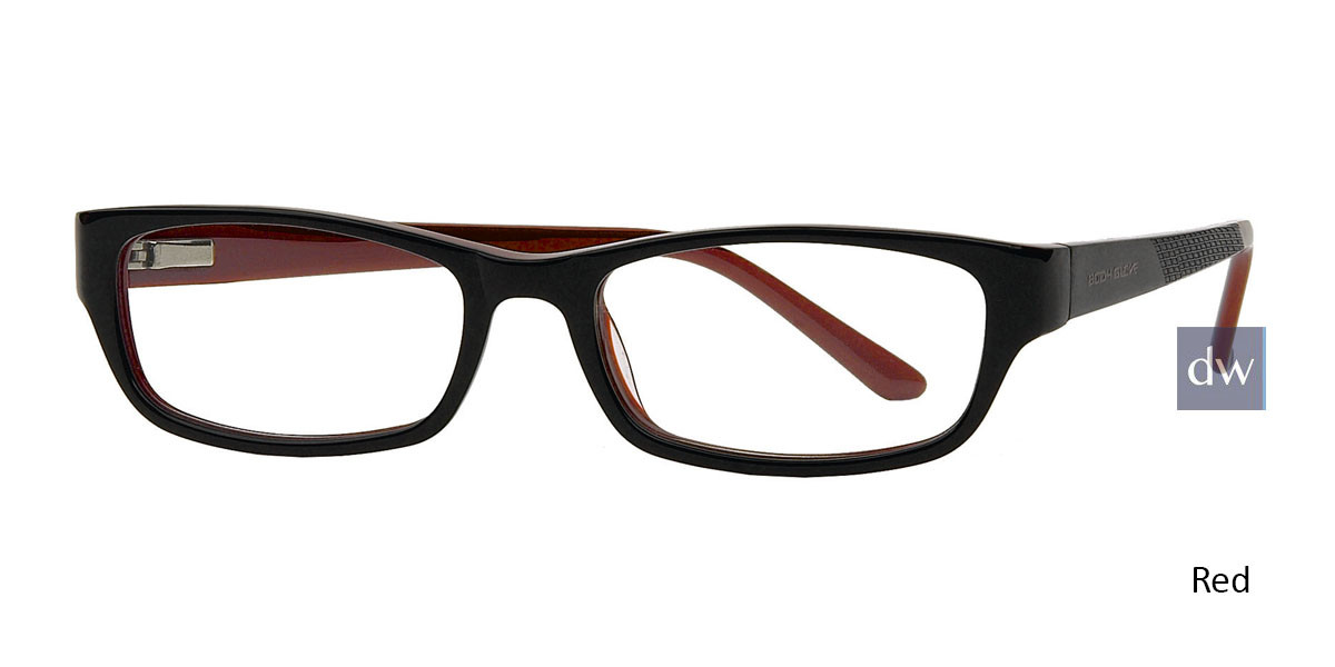 Black Red Body Glove BB126 Eyeglasses - Teenager.