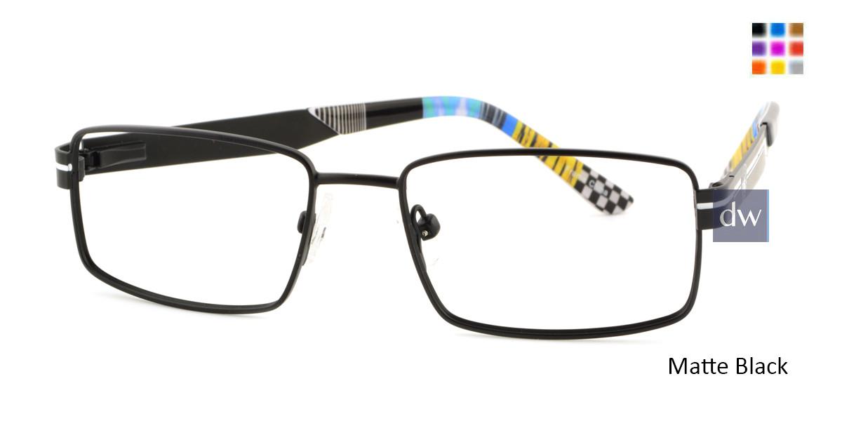 Matte Black Body Glove BB141 Eyeglasses.