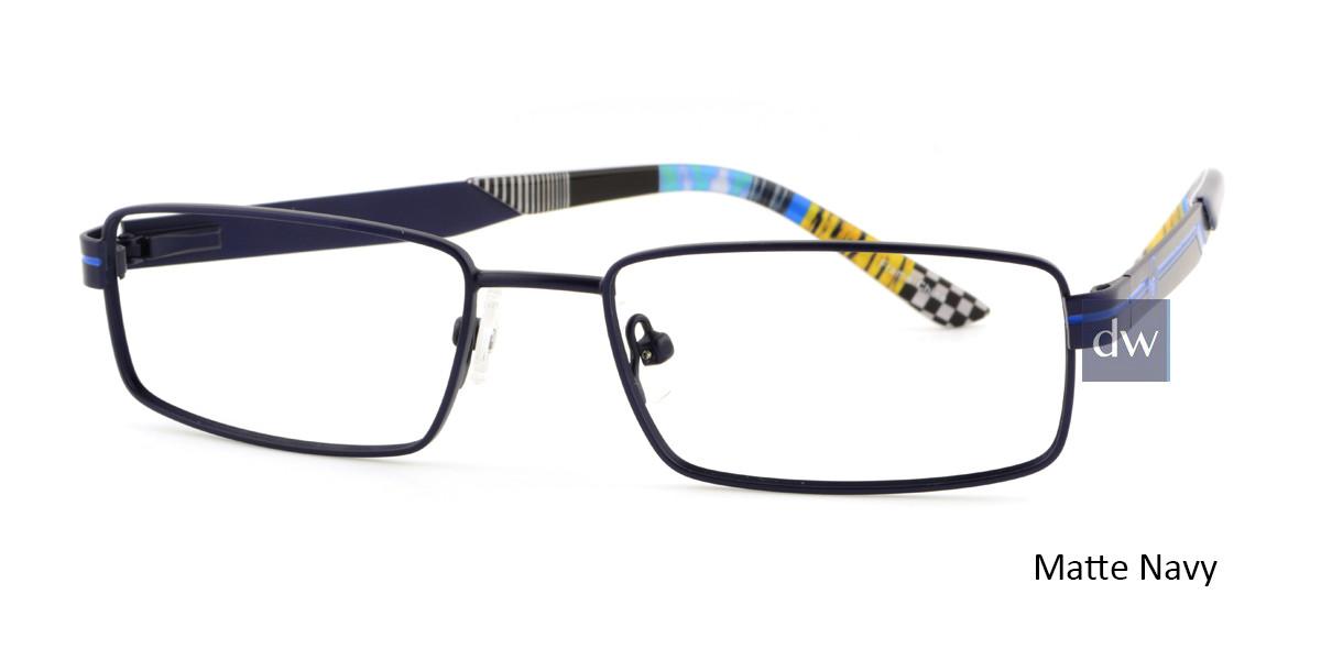 Matte Navy Body Glove BB141 Eyeglasses.