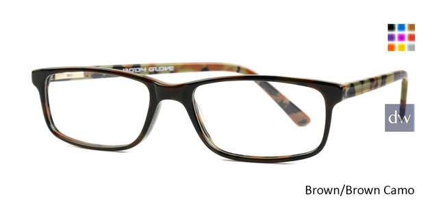 Brown/Brown Camo  Body Glove BB143 Eyeglasses.