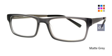 Matt Grey Body Glove BB145 Eyeglasses.