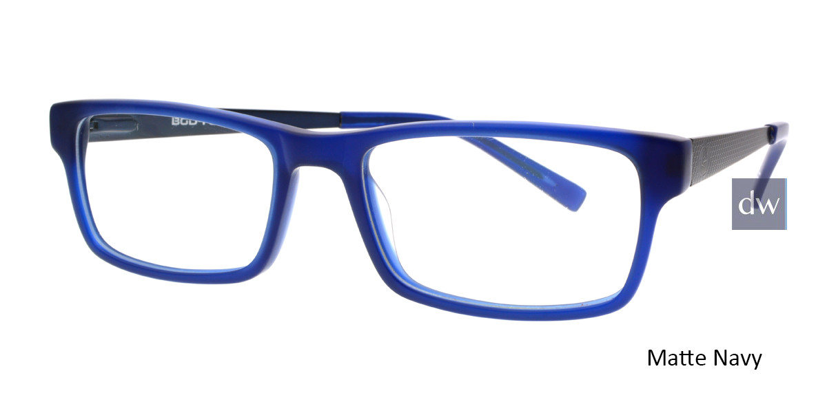 Matt Navy Body Glove BB145 Eyeglasses.