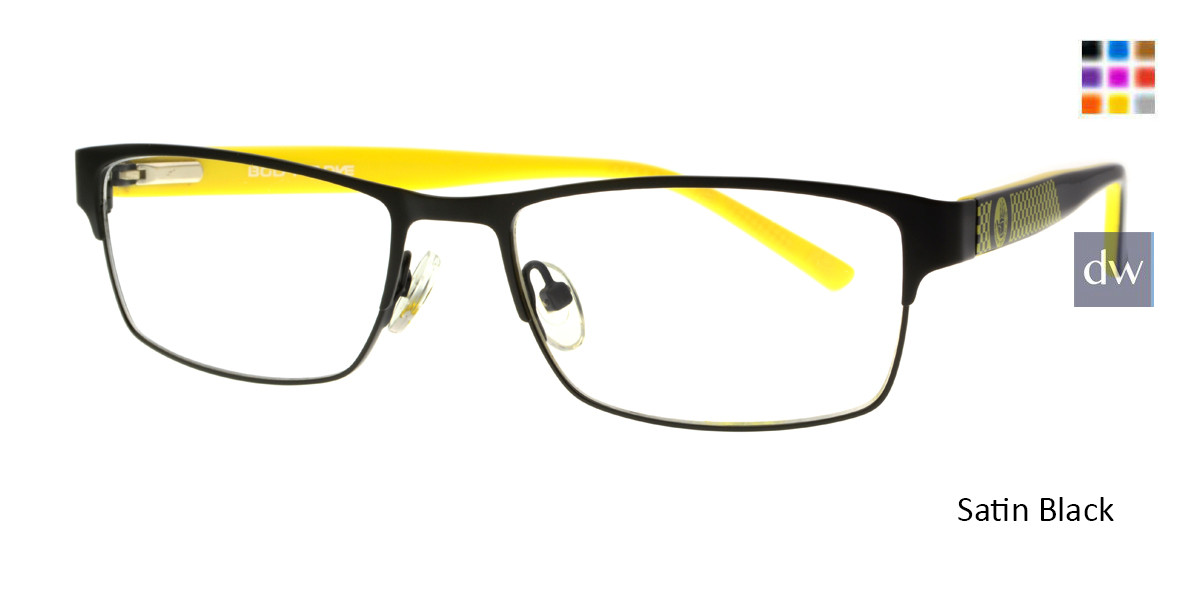 Satin Black Body Glove BB146 Eyeglasses - Teenager.