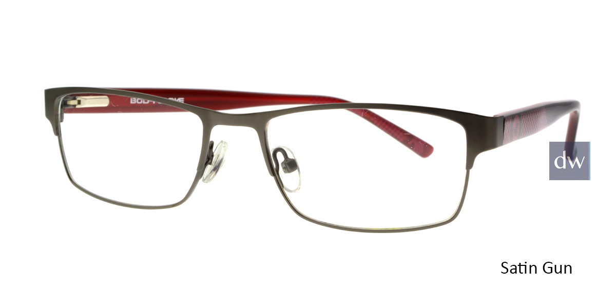 Satin Gun Body Glove BB146 Eyeglasses - Teenager.