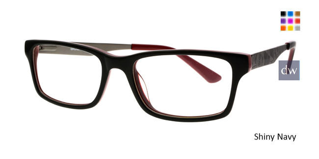 Shiny Black Body Glove BB147 Eyeglasses.