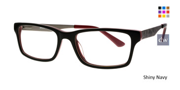 Shiny Black Body Glove BB147 Eyeglasses.