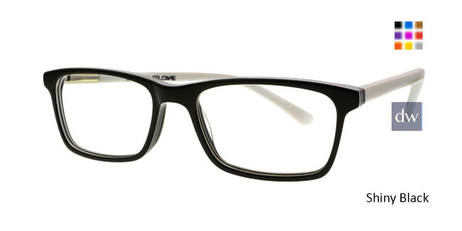 Shiny Black Body Glove BB148 Eyeglasses.