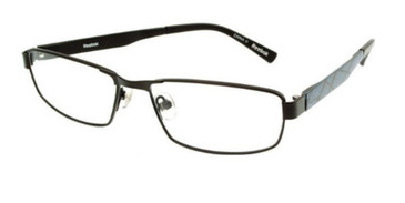 Satin Black Reebok R1015 Eyeglasses