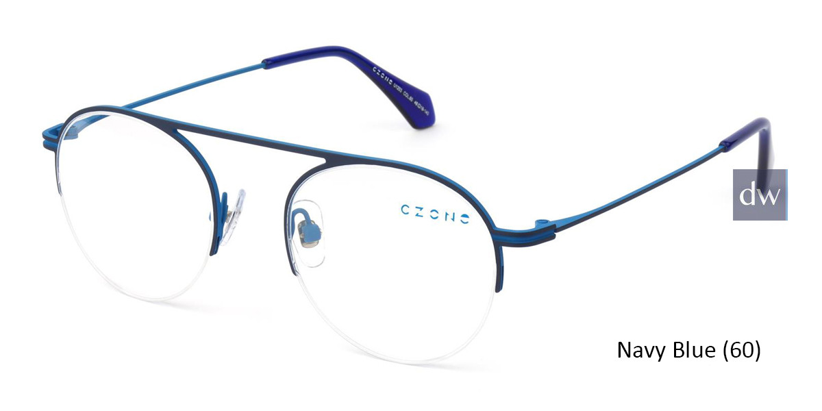 Navy Blue C-Zone U1203 Eyeglasses - Teenager