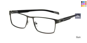 Gun Reebok R1020 Eyeglasses.