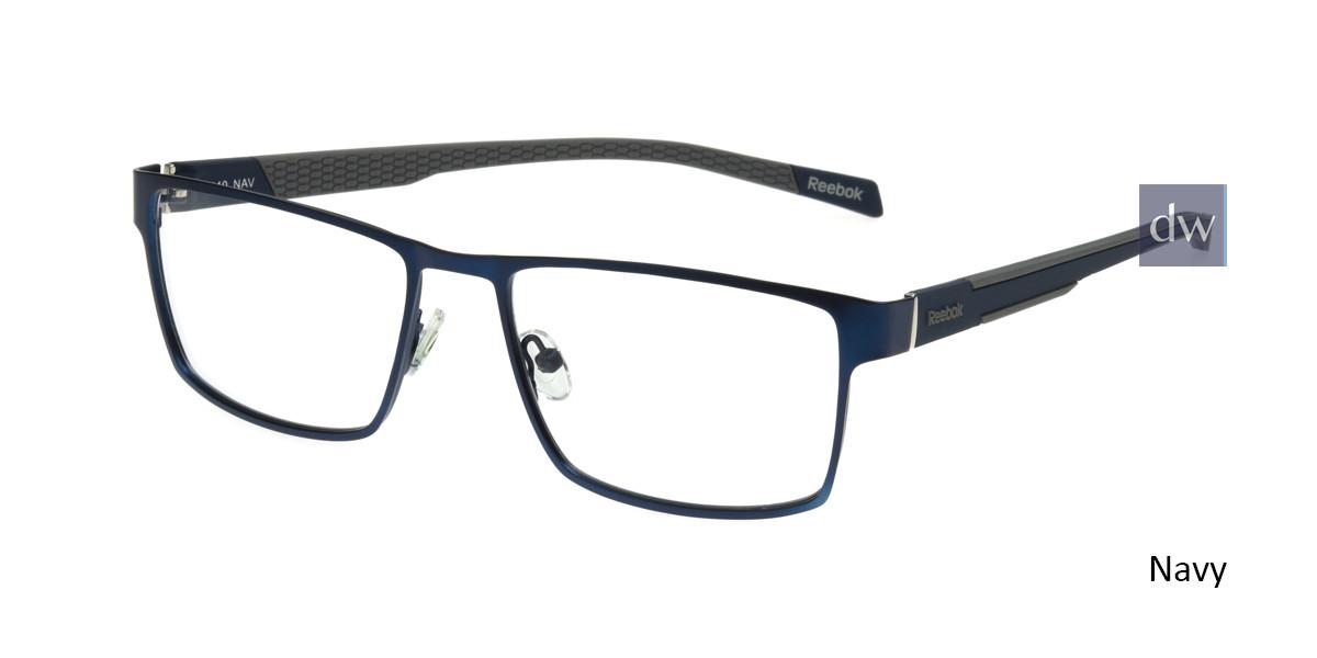 Navy Reebok R1020 Eyeglasses