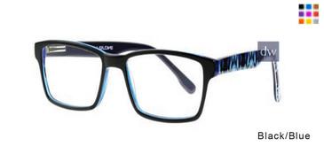 Black/Blue Body Glove BB140 Eyeglasses
