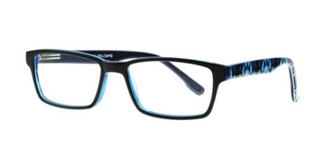 Black/Blue Body Glove BB140 Eyeglasses
