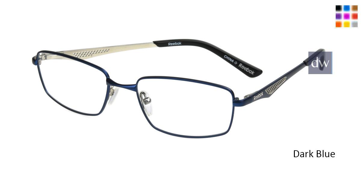 Dark Blue Reebok R2023 Eyeglasses.