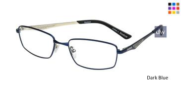 Dark Blue Reebok R1023 Eyeglasses.