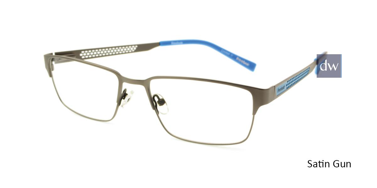 Satin Gun Reebok R2031 Eyeglasses.