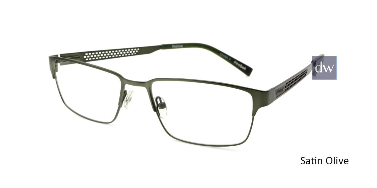 Satin Olive Reebok R2031 Eyeglasses.