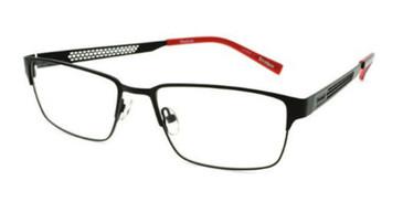 Satin Black Reebok RV2031 Eyeglasses