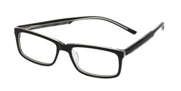 Shiny Black/Crystal Reebok RV3003 Eyeglasses