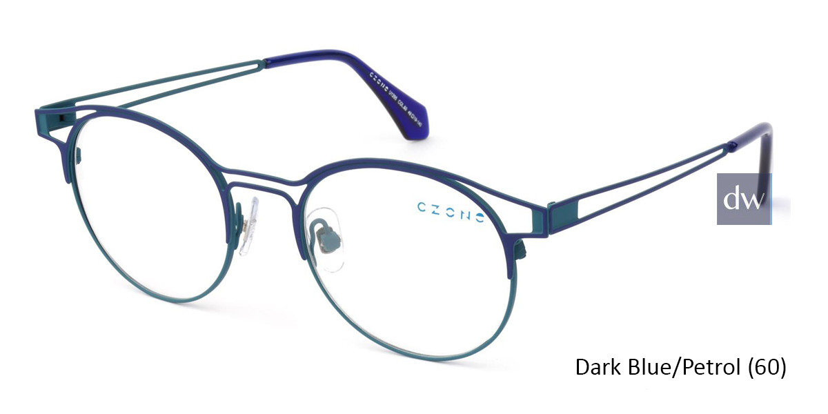 Dark Blue/Petrol (60) C-Zone U1205 Eyeglasses - Teenager