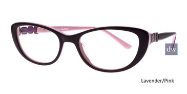 Lavender/Pink Body Glove BG803 Eyeglasses - Teenager.