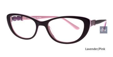 Lavender/Pink Body Glove BG803 Eyeglasses - Teenager