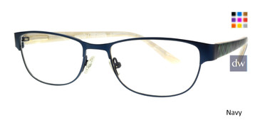 Navy Body Glove BG805 Eyeglasses.