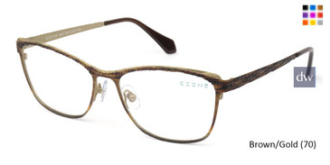 Brown/Gold C-Zone U2223 Eyeglasses