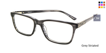 Grey Striated Reebok R3007 Eyeglasses.