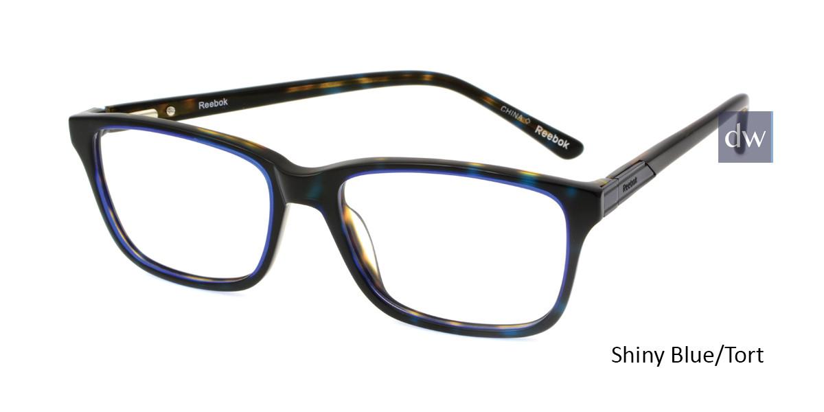 Shiny Blue/Tort Reebok R3007 Eyeglasses.