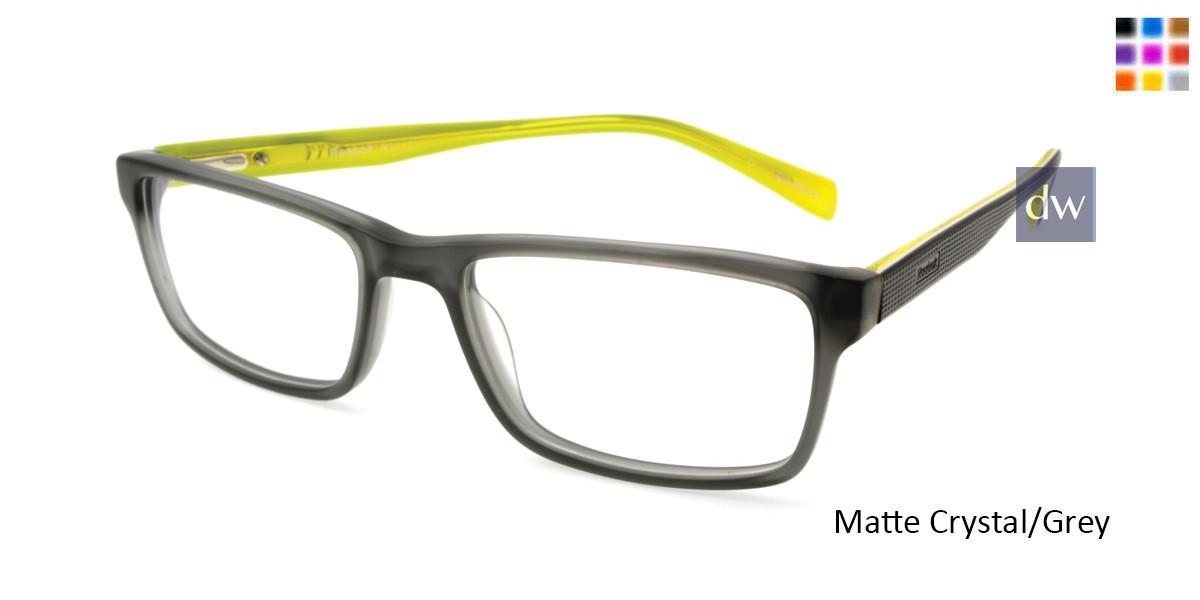 Matte Crystal/Grey Reebok R3013 Eyeglasses