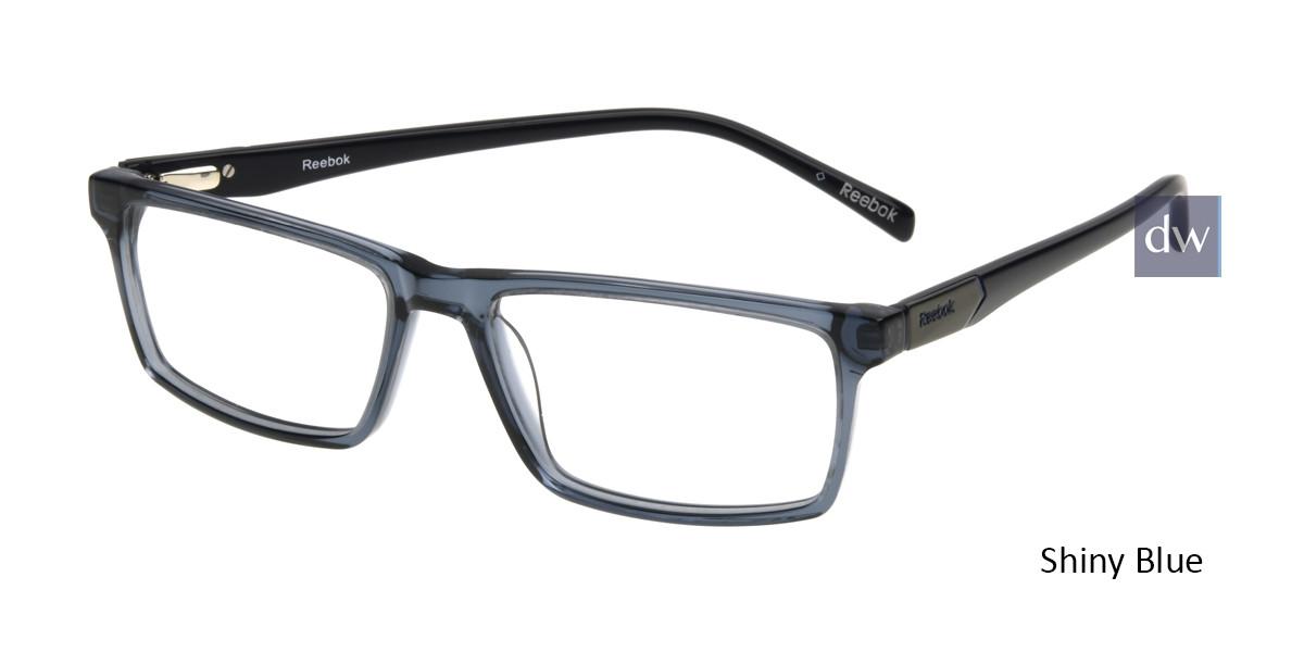 Shiny Blue Reebok R3016 Eyeglasses.