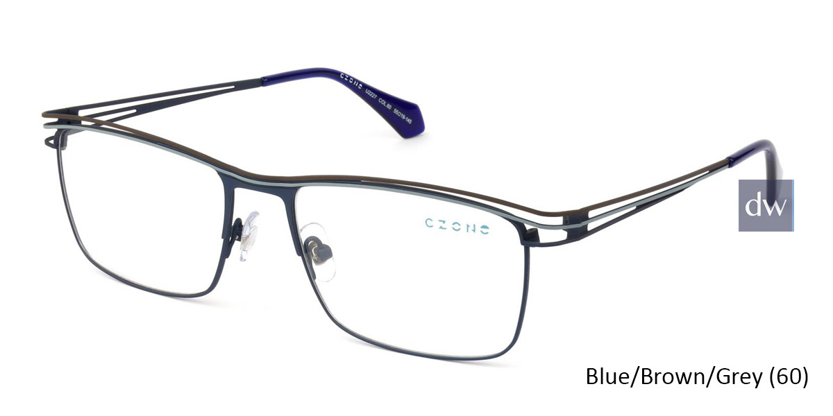 Blue/Brown/Grey (60) C-Zone U2227 Eyeglasses