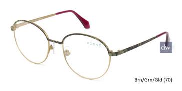 Brn/Grn/Gld -Zone U2229 Eyeglasses