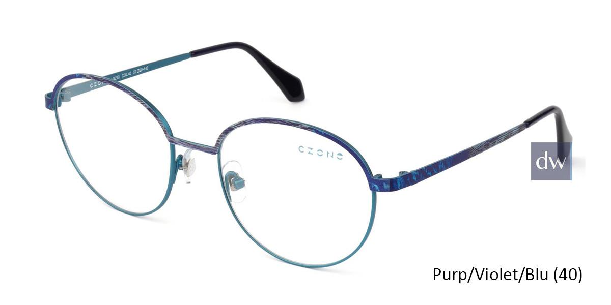 Purp/Violet/Blu (40) C-Zone U2229 Eyeglasses