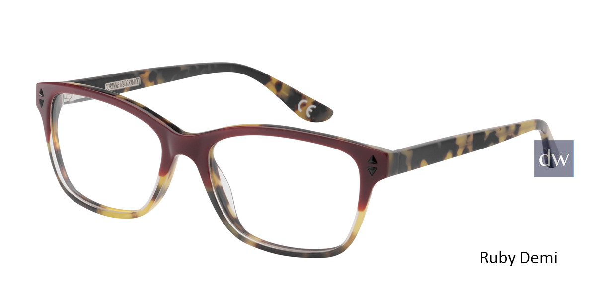 Ruby Demi Corinne McCormack Chrystie Eyeglasses.