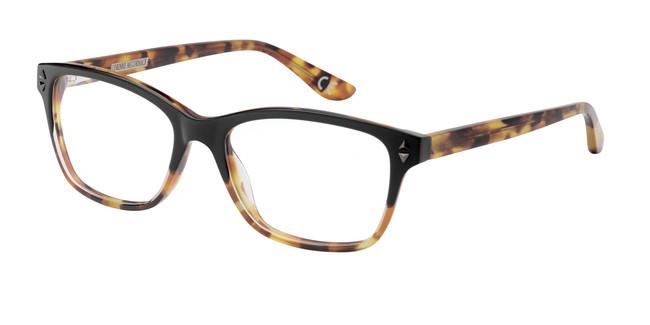 Black Demi Corinne McCormack Chrystie Eyeglasses.