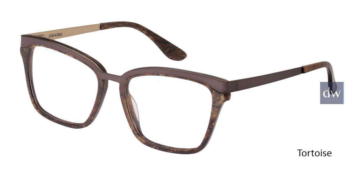 Tortoise Corinne McCormack Orchard Eyeglasses.