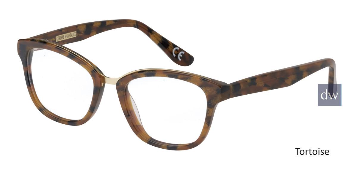 Tortoise Corinne McCormack Stanton Eyeglasses - Teenager.