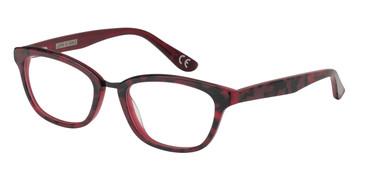 Burgundy Corinne McCormack Stanton Eyeglasses - Teenager.