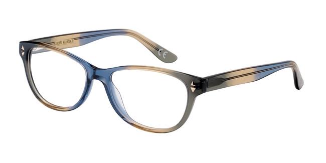 Navy Corinne McCormack Sutton Place Eyeglasses.