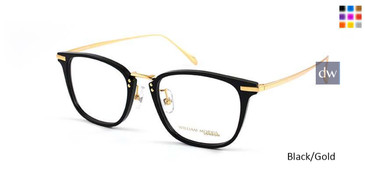 Black/Gold William Morris London WM50030 Eyeglasses.