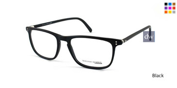 Matte Black William Morris London WM50033 Eyeglasses.